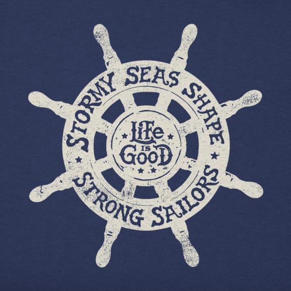 Men's LiG Ships Wheel Hooded Sweatshirt