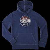 Men's LiG Sphere Americana Hooded Sweatshirt