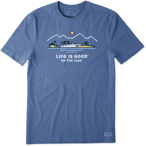 Life is Good Mens Beer Graphic T-Shirts Long Sleeve Collection