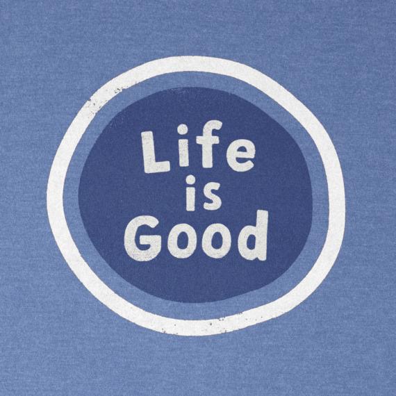 Men's Life Is Good Sphere Crusher Tee