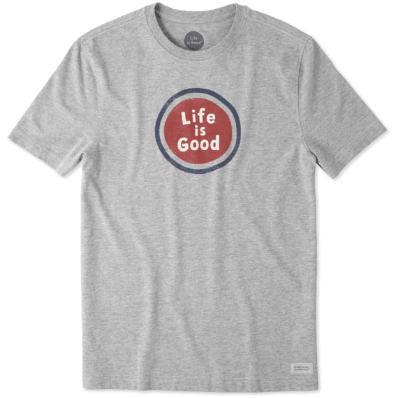 Men's Life Is Good Sphere Crusher Tee