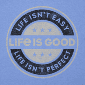 Men's Life Isn't Easy Coin Cool Tee