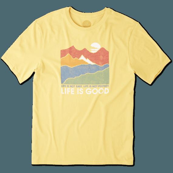 Men's Life Isn't Easy Mountains Smooth Tee