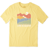 Men's Life Isn't Easy Mountains Smooth Tee