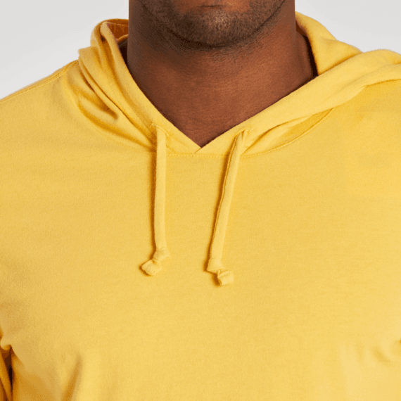 Men's Life Isn't Perfect Mountains Long Sleeve Hooded Crusher