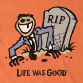 Men's Life Was Good Crusher Tee