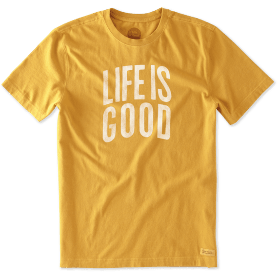 Men's Life is Good Arch Crusher Tee