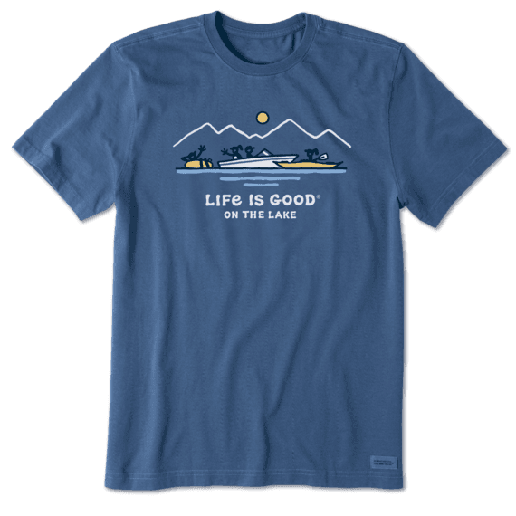 Life is Good Mens Vintage Longsleeve Shirt