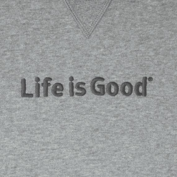 Men's Life is Good Go-To Crew