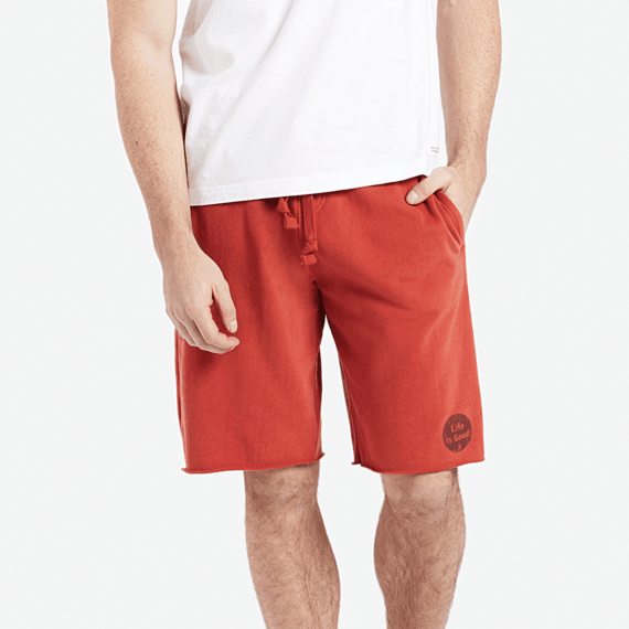 Men's Life is Good Dot Lounge Shorts