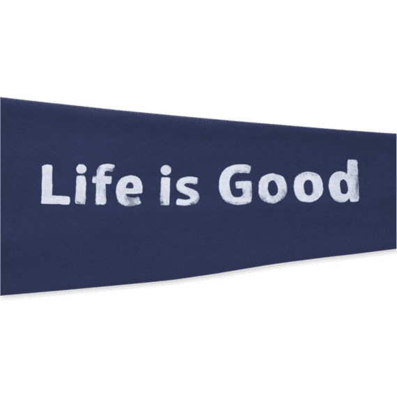Men's Life is Good Go-To Zip Hoodie