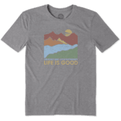 Men's Life Isn't Easy Mountains Cool Tee