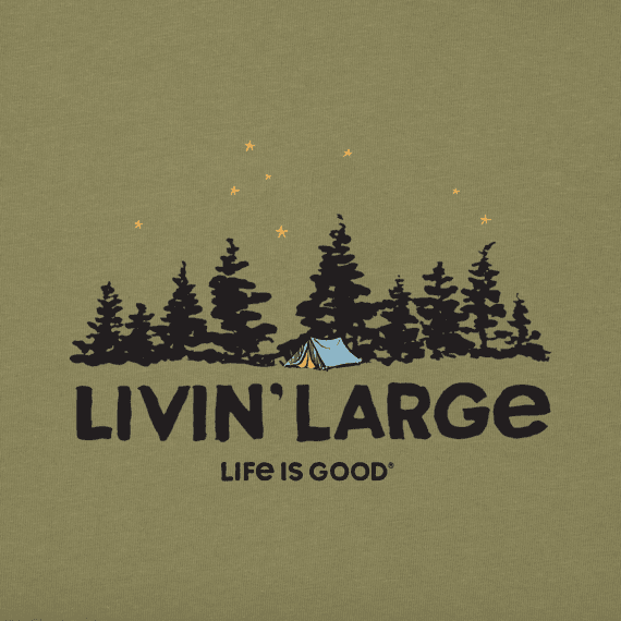 Men's Livin' Large Camp Crusher Tee