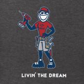 Men's Livin' The Dream Crusher Tee