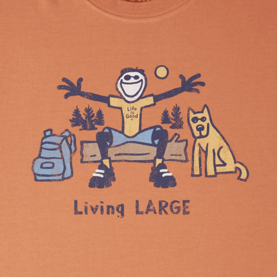 Men's Living LARGE Camp Crusher Tee