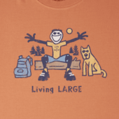 Men's Living LARGE Camp Crusher Tee