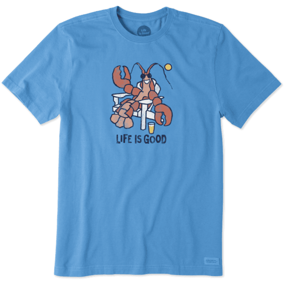Men's Lobster Adirondack Crusher Tee