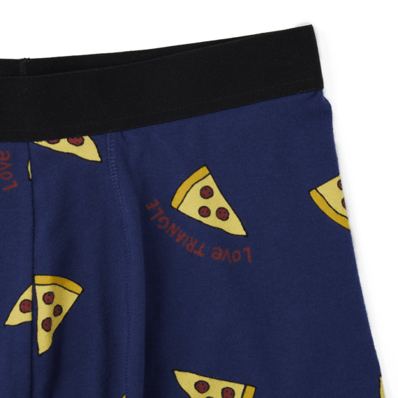 Men's Love Triangle Toss Print Boxer Brief