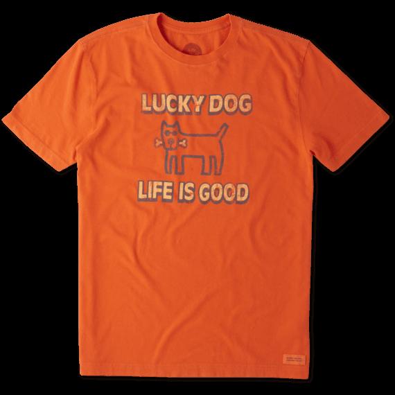 Men's Lucky Dog Crusher Tee