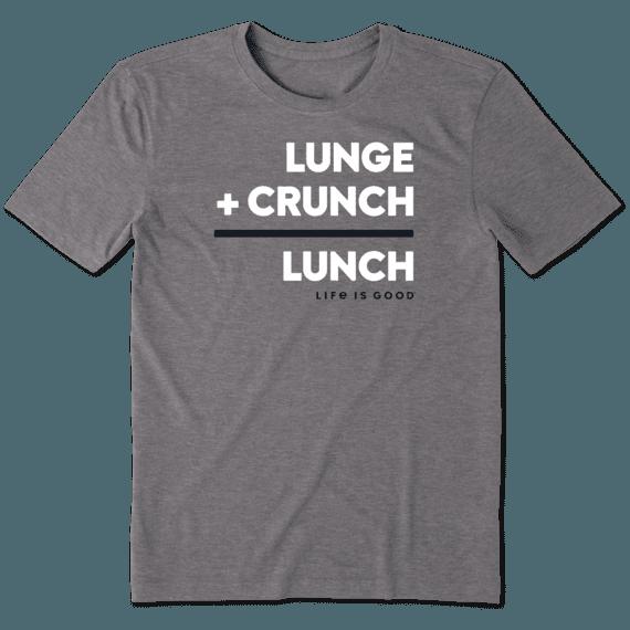 Men's Lunch Math Cool Tee