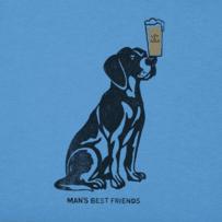 Men's Man's Best Friends Crusher Tee
