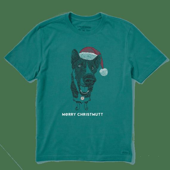 Men's Merry Christmutt Crusher Tee