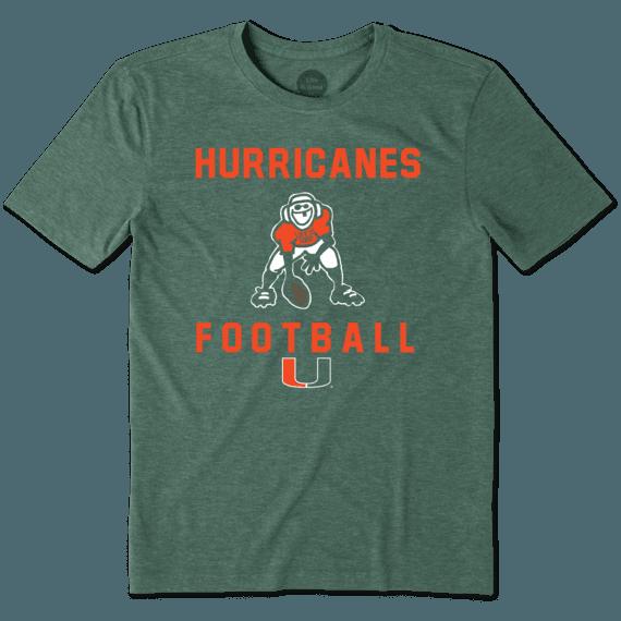 Men's Miami Football Jake Cool Tee