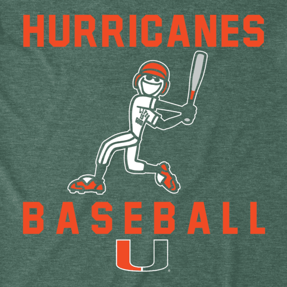 Men's Miami Baseball Jake Cool Tee