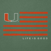 Men's Miami Flag Cool Tee
