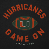 Men's Miami Game On Cool Tee