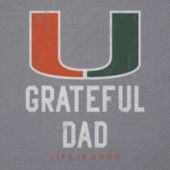 Men's Miami Grateful Dad Cool Tee