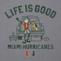 Men's Miami Tailgate Truck Long Sleeve Cool Tee