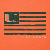 Men's Miami Team Flag Cool Tee