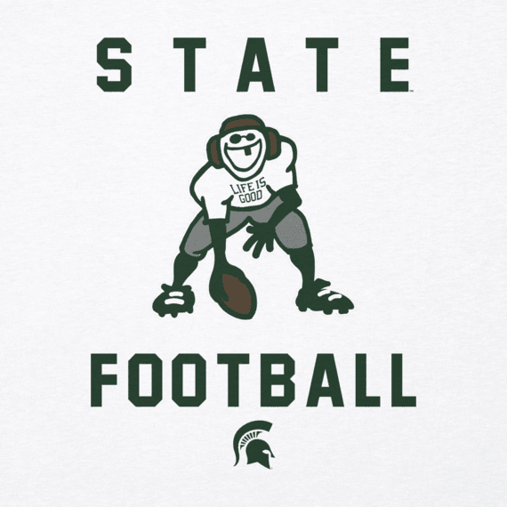 Men's Michigan State Athlete Jake Cool Tee