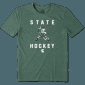 Men's Michigan State Hockey Jake Cool Tee