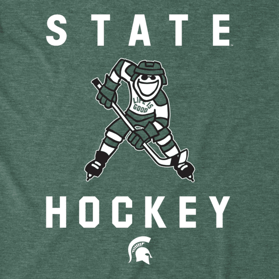 Men's Michigan State Hockey Jake Cool Tee