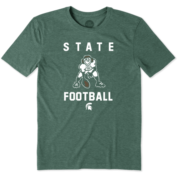 Men's Michigan State Football Jake Cool Tee