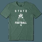 Men's Michigan State Football Jake Cool Tee