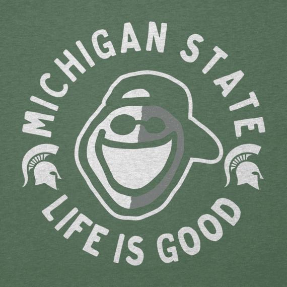 Men's Michigan State Face Paint Jake Cool Tee