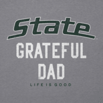 Men's Michigan State Grateful Dad Cool Tee