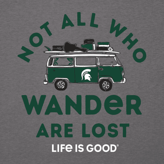 Men's Michigan State Retro Van Cool Tee
