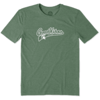 Men's Michigan State Spartans Good Vibes Tailwhip Cool Tee