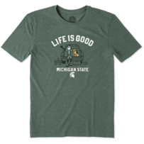 Men's Michigan State Tailgate Jake Cool Tee