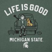 Men's Michigan State Tailgate Jake Cool Tee