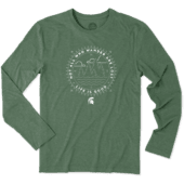 Men's Michigan State Wander Long Sleeve Cool Tee