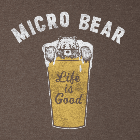 Men's Micro Bear Crusher Tee