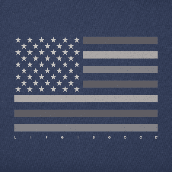Men's Minimal Flag Crusher Tee