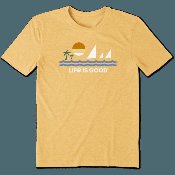 Men's Minimalist Beach Cool Tee
