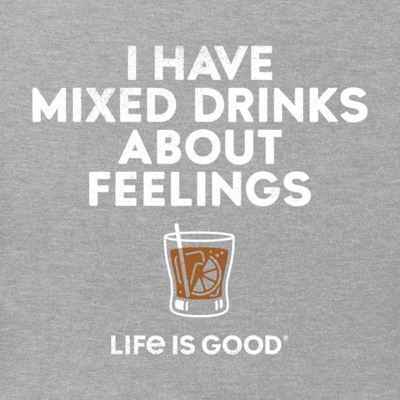 Men's Mixed Drinks Feelings Crusher Tee