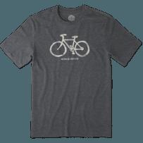 Men's Mobile Device Bike Cool Tee